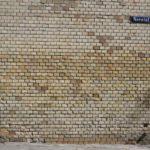 Klinker nach Graffiti Entfernung